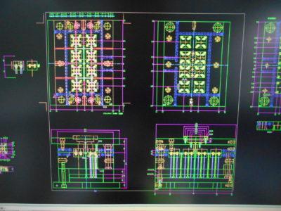 金型設計CAD(アンドール CADSUPER FXII)