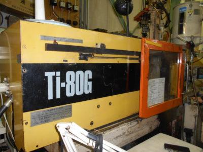 横型射出成形機(東洋機械金属 PLASTAR Ti-80G)